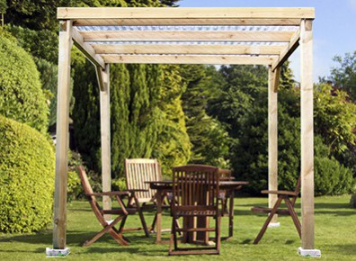 pergola tonnelle de jardin offrez vous un salon en plein air promo france abris. Black Bedroom Furniture Sets. Home Design Ideas