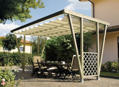 pergola tonnelle de jardin offrez vous un salon en. Black Bedroom Furniture Sets. Home Design Ideas