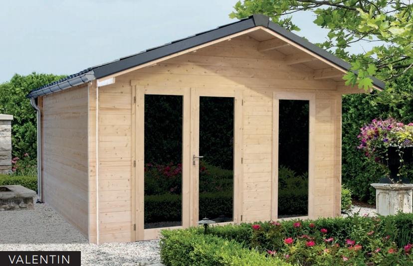 Abris Jardin Bois Gamme Premium : Bureaux Et Chalets Haut De Gamme