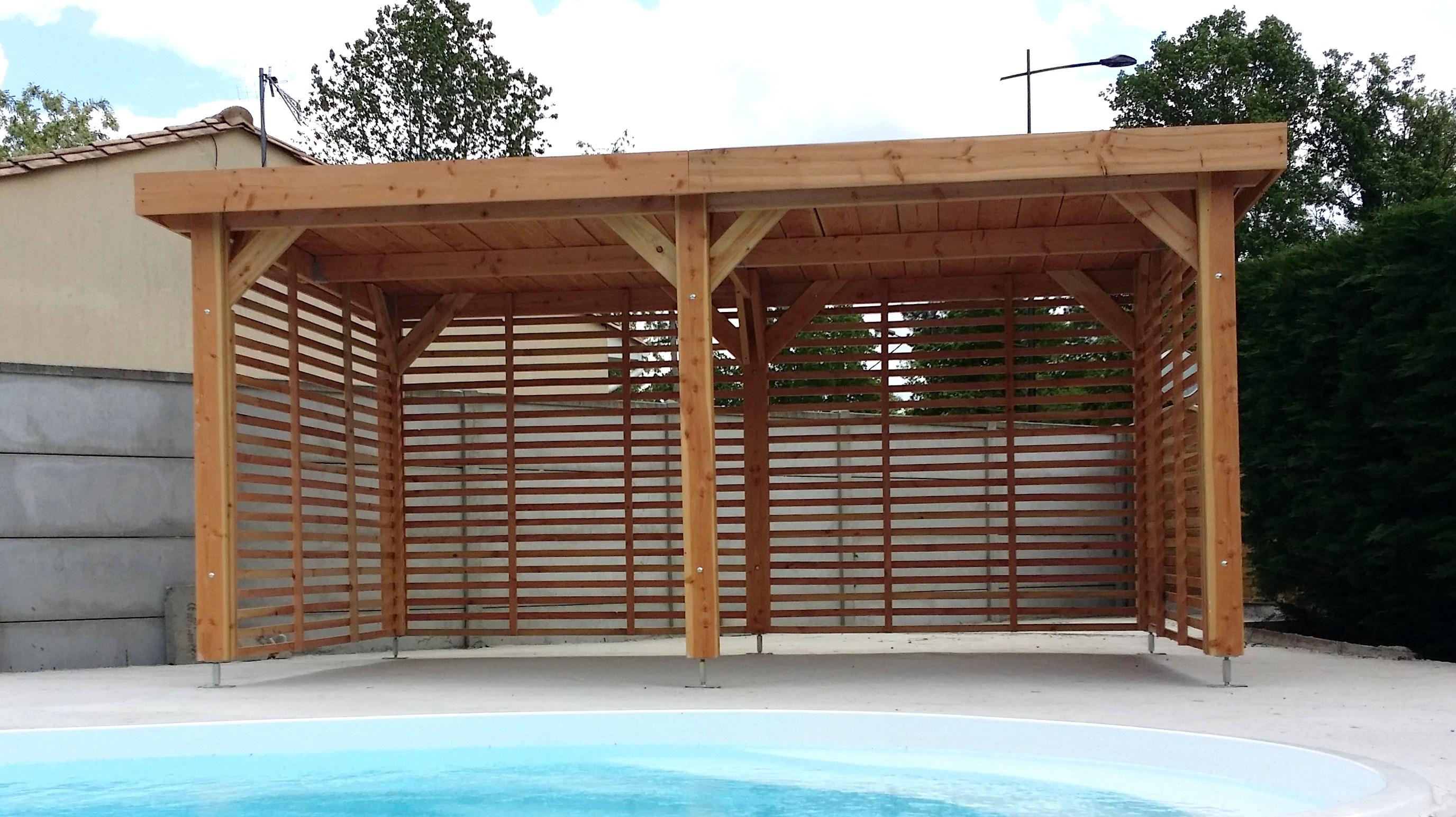 Agrandir sa maison en ossature bois extension en bois for Ossature bois pour piscine
