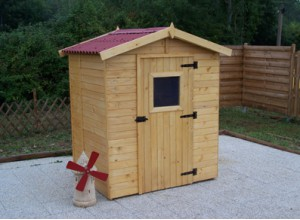 Abri de jardin pas cher les meilleurs offres du web - Cabane de jardin bois pas cher ...