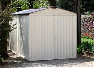 garage métallique, plusieurs coloris chez franceabris.com