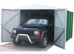 garage métallique, bonne hauteur utile en kit