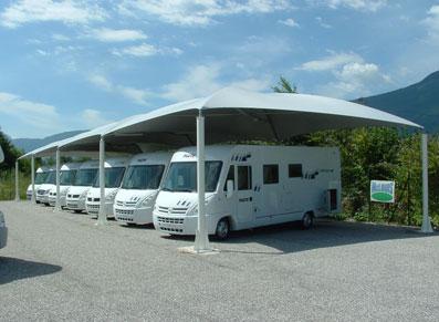 protéger un stock important de caravane et autre campingcar