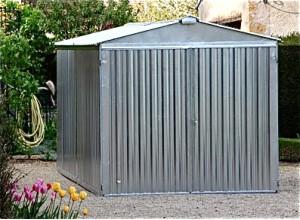 garage m tallique d montable un abri en kit monter et. Black Bedroom Furniture Sets. Home Design Ideas
