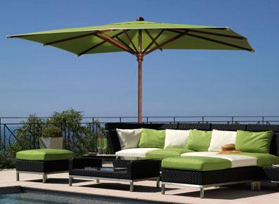 Pour amenager vos abords de piscines, mobilier et parasol