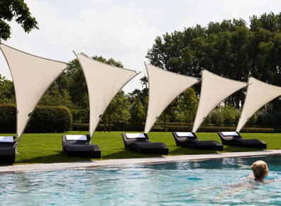 Un modèle design pour aménager sa piscine