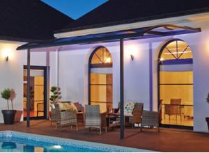une couverture de terrasse, couleurs au choix