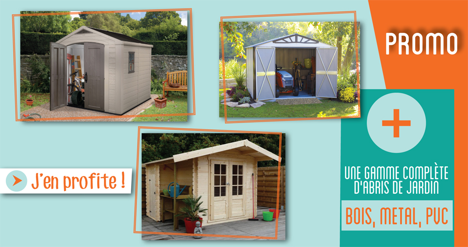 CHALET BOIS EN KIT : Une pièce à vivre au jardin ! - FRANCE ABRIS