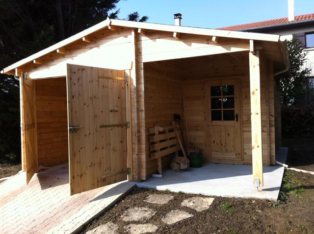 Montage Carport Bois - Installation d u2019un garage en bois u2013 Lesétapes de montage u2013 Blog conseil abri jardin garage