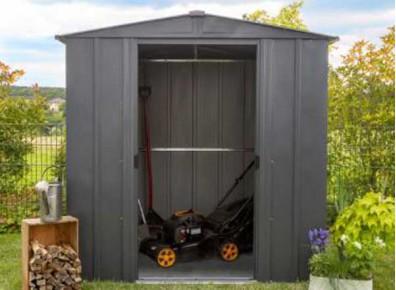 Abri de jardin en métal, pratique et pas cher !