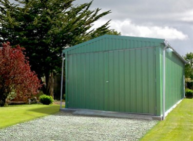 Un garage métal pour obtenir une pièce de plus chez soi