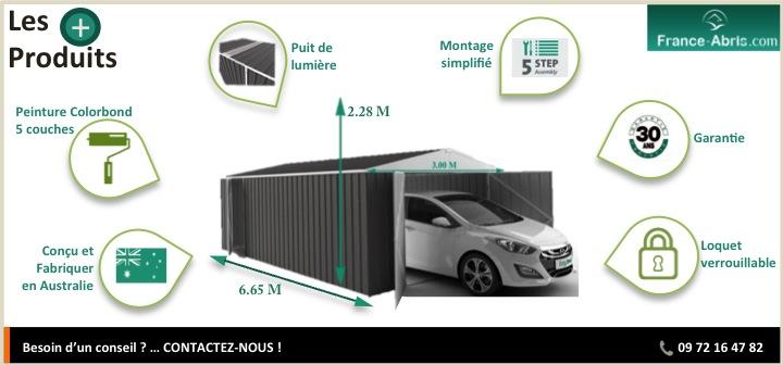 Les + Produits - Garage Métal Grande Longueur