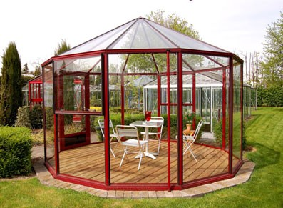 Serre en verre ronde diametre 4 m prix livr - Livre serre jardin ...