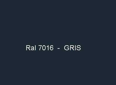 Option laquage en ral 7016 - Gris ral 7016 ...