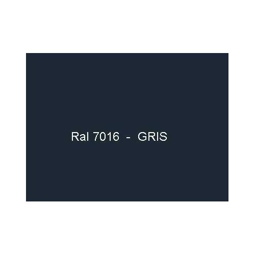 Option laquage en ral 7016 for Abris de jardin ral 7016