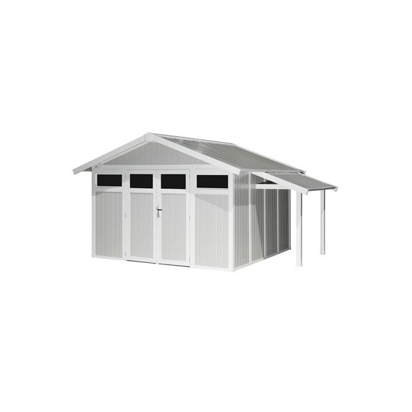 abri jardin pvc grosfillex gamme utility fabrication francaise. Black Bedroom Furniture Sets. Home Design Ideas