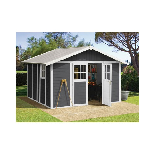 abri jardin pvc gamme deco de grosfillex garantie 10 ans. Black Bedroom Furniture Sets. Home Design Ideas
