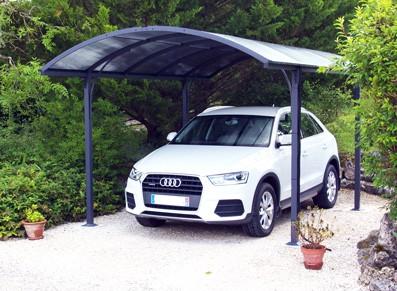 abri voiture en aluminium 3 x 5 m pas cher et design. Black Bedroom Furniture Sets. Home Design Ideas