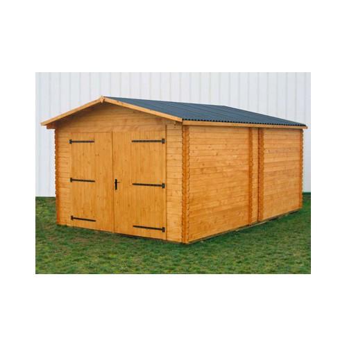 Garage bois premier un garage madrier petit prix 28 for Prix location d un box garage
