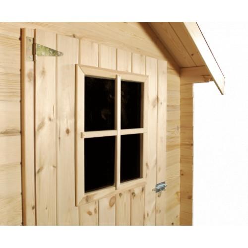 Abri de jardin madrier 8m2 - Plexiglass prix m2 ...
