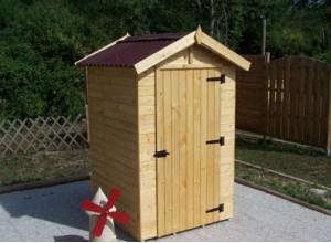Cabane de jardin en bois avec surface de moins de 5m2 for Cabane jardin 5m2