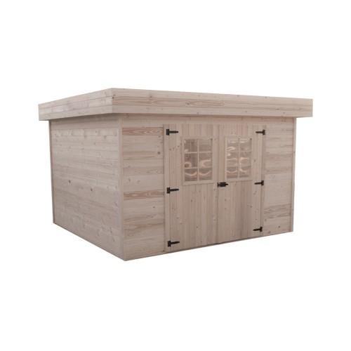 abri de jardin bois m2. Black Bedroom Furniture Sets. Home Design Ideas