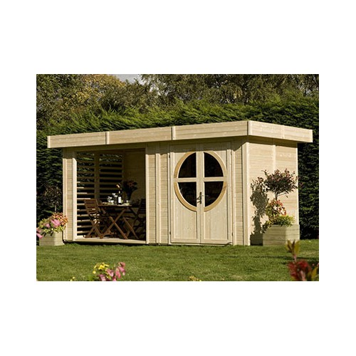 abri de jardin extension x m. Black Bedroom Furniture Sets. Home Design Ideas