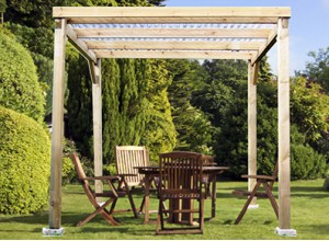 pergola tonnelle de jardin offrez vous salon en plein air promo. Black Bedroom Furniture Sets. Home Design Ideas
