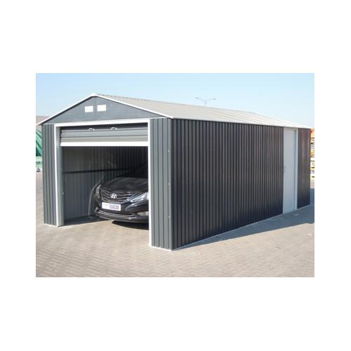 Garage metal grande hauteur 3 50 x for Garage tunnel metallique