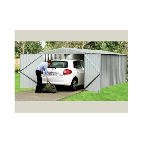 garage metal top affaire absco des abris voitures en kit promo. Black Bedroom Furniture Sets. Home Design Ideas