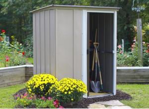 Abri jardin metal bois pvc moto et v lo pour jardins for Abri de jardin en fer