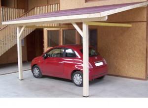 Carport abri voiture pour abriter des intemp ries grele promo - Carport double adosse ...