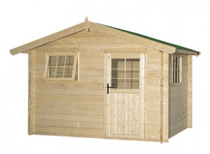 Abri jardin bois abris brut ou autoclave pour jardins for Chalet de jardin prix