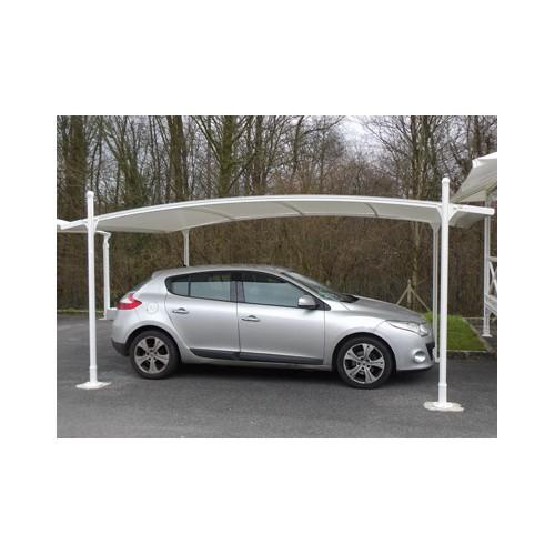 Abri voiture aluminium toile pvc hauteur r glable promo - Abri voiture toile ...