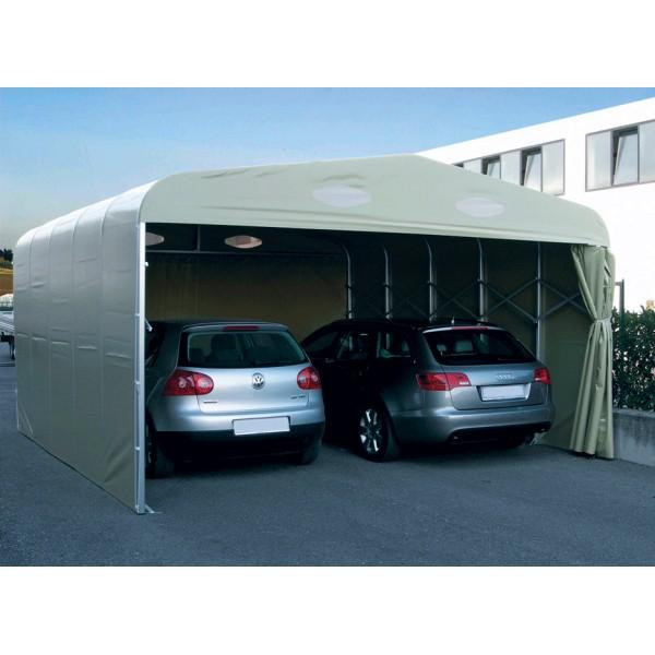 garage pvc pliant double un abri repliable pour 2 voitures port 0. Black Bedroom Furniture Sets. Home Design Ideas