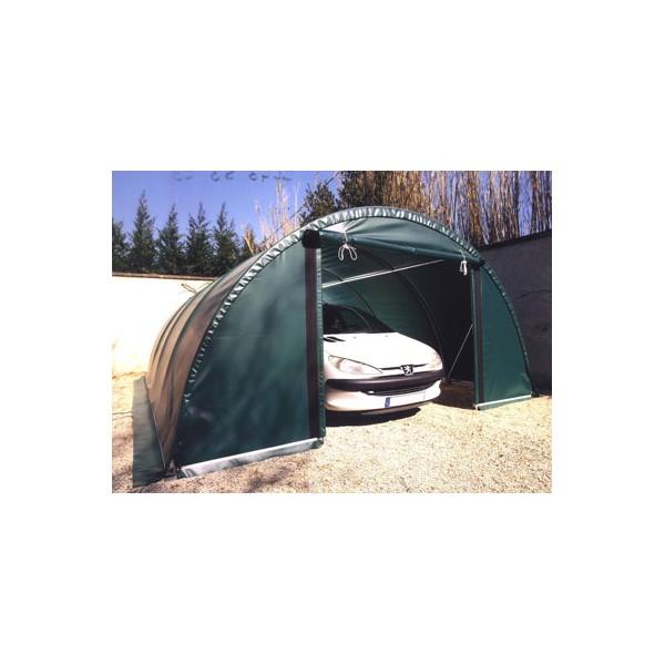 garage pvc un abri conomique pour voiture offre speciale. Black Bedroom Furniture Sets. Home Design Ideas