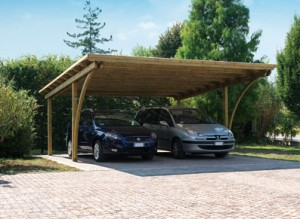abri voiture bois carport pas cher 1 ou 2 voitures. Black Bedroom Furniture Sets. Home Design Ideas