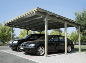 Abri voiture bois carport pas cher 1 ou 2 voitures - Carport voiture pas cher ...