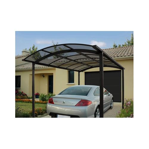 carport en aluminium asymetrique l 39 abri voiture id al. Black Bedroom Furniture Sets. Home Design Ideas