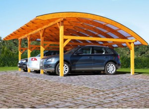 CARPORT ARC 1 PLACE :::: 4.34 X 6.30 M
