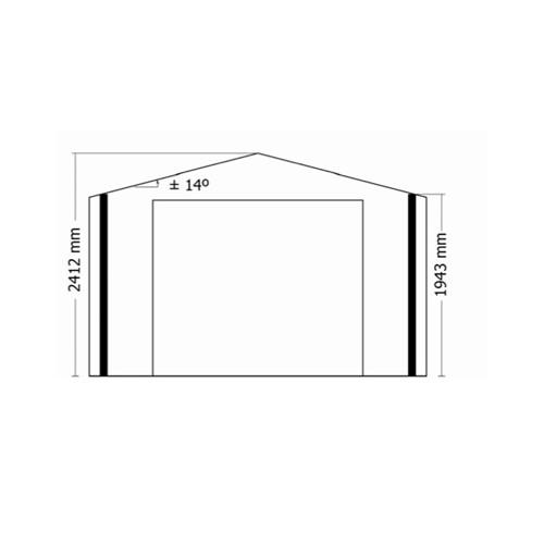 Garage en bois 34 mm moins 20 m2 kit en madrier promo for Garage bois autoclave 20 m2