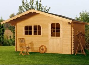 Bureau ou chambre de jardin une petite maison en bois - Bureau de jardin prix ...