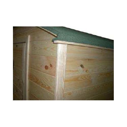 abri en panneau bois 19 mm design toit arrondi promo. Black Bedroom Furniture Sets. Home Design Ideas