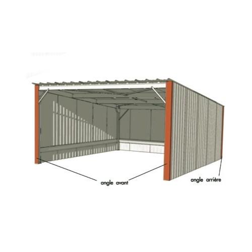 abri voiture simple pente 4 00 x 5 36 m. Black Bedroom Furniture Sets. Home Design Ideas