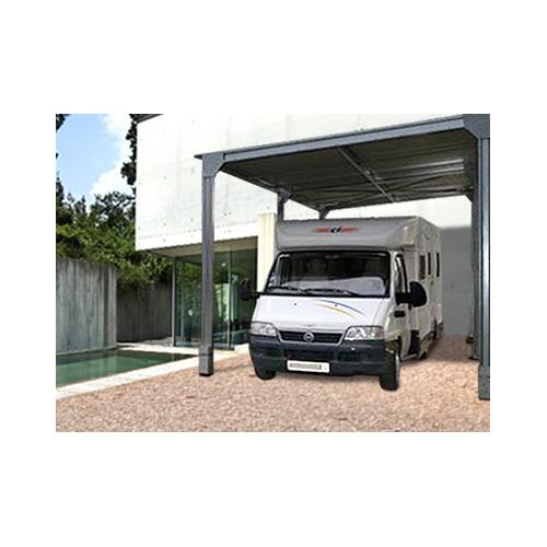 abri camping car metallique m x m. Black Bedroom Furniture Sets. Home Design Ideas