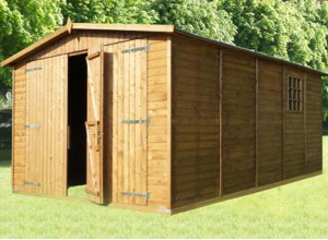 Garage bois autoclave pour une long vit garantie for Garage bois autoclave