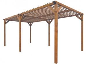 Abri terrasse bois abri terrasse bois sur enperdresonlapin - Abri de terrasse en bois ...