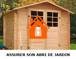 assurer son abri de jardin