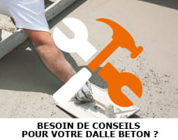 conseils pour realiser une dalle beton